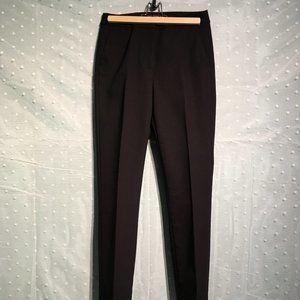 Zara classic straight leg black pants